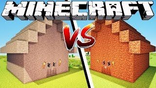 Download STONE HOUSE VS DIRT HOUSE - Minecraft Video