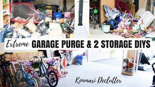 Download EXTREME GARAGE DECLUTTER | DIY BIKE RACK | KONMARI | Nesting Story Video