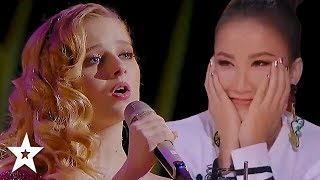 Download Jackie Evancho Returns And AMAZES Again On World's Got Talent 2019! | Got Talent Global Video
