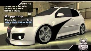 Download GTA San Andreas - Tunable Cars Pack Mod Video