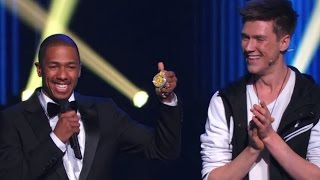 Download America's Got Talent MAGICIAN SMASHES NICK CANNON'S $250,000 WATCH | Collins Key Video