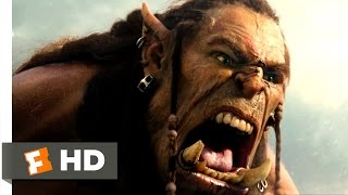 Download Warcraft - Durotan Challenges Gul'dan Scene (6/10) | Movieclips Video