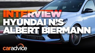 Download Hyundai i30 N: We interview N boss Albert Biermann Video
