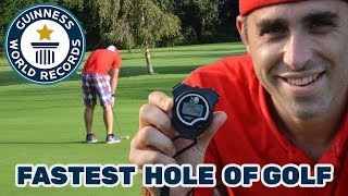 Download Fastest hole of golf (individual) - Guinness World Records Video