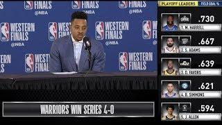 Download CJ McCollum Press Conference | Western Conference Finals Game 4 Video