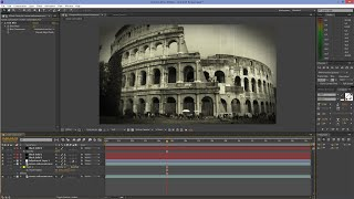 Download After Effects Tutorial: Old Film Look Video