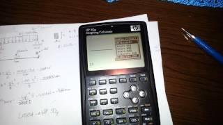 Download HP 50g - Larch estruturas - viga bi-apoiada Video