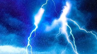 Download EPIC THUNDER & RAIN | Rainstorm Sounds For Relaxing, Focus or Sleep | White Noise 10 Hours Video