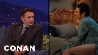 "Download James Franco's Lower Half Gets A Lot Of Screentime In ""Why Him?"" - CONAN on TBS Video"