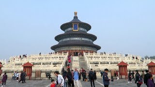 Download The Temple of Heaven and Tiantan Park in Beijing (China) Video