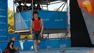 Download ADAM ONDRA Boulder 5 Qualification IFSC Climbing World Championships - Innsbruck 2018 - Boulder Video