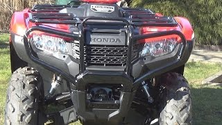 Download Honda Foreman TRX 500 walk-around Video