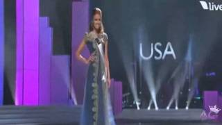 Download Miss USA - Alyssa Campanella at Miss Universe 2011 Video