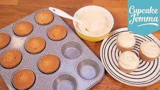 Download Salted Caramel Cupcake Sponge Recipe | Cupcake Jemma Video