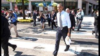 Download President Obama Walks The Streets Of Washington Video