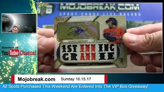 Download 10/15 - 2017 Triple Threads & Immaculate Baseball Double Case Break Random Team Video