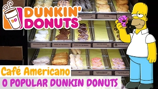Download O POPULAR DUNKIN DONUTS - Cappuccino + Boston Cream e Corn Muffin Video