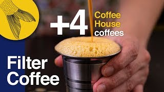 Download Filter Coffee/Kapi +4 types of Coffee House coffees—How to use a South Indian Coffee Filter at Home Video