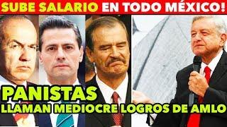 Download A UN MES DE GOBIERNO, AMLO SUBE SALARIO EN TODO MÉXICO Video