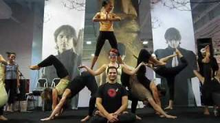Download AcroYoga London - Main Stage Demo at the London Yoga Show 2009 Part 4 Video