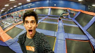 Download MY FIRST TIME AT A TRAMPOLINE PARK! Video