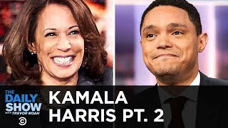 Download Kamala Harris on Her 2020 Presidential Campaign and Trump's Vanity Wall | The Daily Show Video