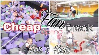 Download SPRING BREAK FUN WITH 8 KIDS! Video