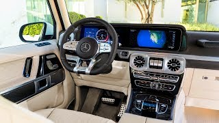 Download 2019 Mercedes-AMG G63 interior Video