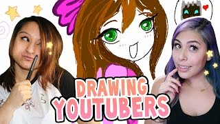 Download Drawing YouTubers with iHasCupquake! Video
