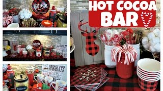 Download DIY Hot Cocoa Bar | Hot Chocolate Station | Day 10 of 12daysofChristmaswithBianca Video