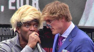 Download Logan Paul vs. KSI FULL INSANE PRESS CONFERENCE Video