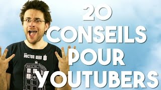 Download 20 CONSEILS POUR YOUTUBERS Video