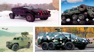 Download Russian armored military vehicles Video