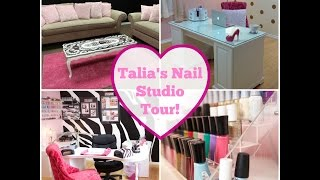 Download Nail Studio Tour!! Video