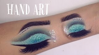 Download HAND ART MAKEUP | Speed drawing - GINA MAKEUP Video
