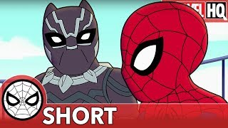 Download We Need Spidey & Black Panther Right MEOW! | Marvel Super Hero Adventures ″Family Friendly″ | SHORT Video