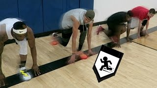 Download WHO'S THE FASTEST CHALLENGE! BASKETBALL SUICIDES! Feat. LSK, TDPresents & Malcolm Video