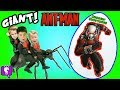 Download Giant ANT-MAN Adventure with Toy Reviews and an Ant-Farm! Video