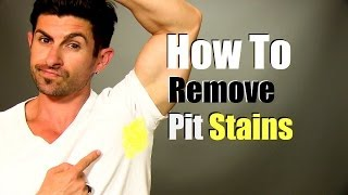 Download How To Remove Yellow Armpit Stains (Quick, Easy and Cheap) Video