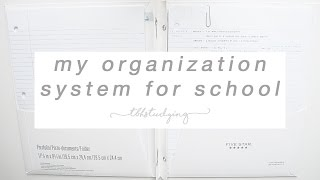 Download my organization system for school Video