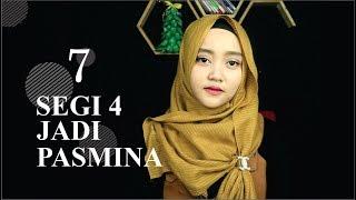 Download 7 Tutorial HIJAB SEGIEMPAT PASMINA Video
