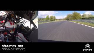 Download Nürburgring Nordschleife: a full lap with Loeb - Citroën WTCC 2014 Video