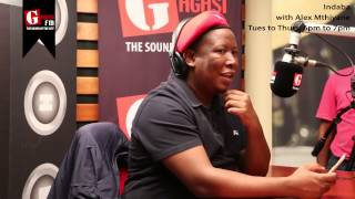 Download Julius Malema Interview with Alex Mthiyane Video