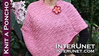 Download How to knit a poncho Video