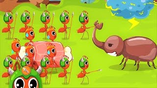 Download Ant Colonies | Baby Panda Explore The Life Cycle Of Ant | Learning Game Video