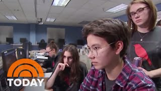 Download Meet The Teens Being Groomed As The Future Of Cyber Security | TODAY Video