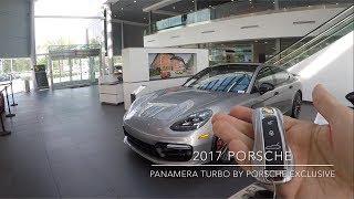 Download 2017 Porsche Exclusive GT Silver Porsche Panamera Turbo 550 hp @ Porsche West Broward Video