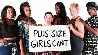 Download Things Plus-Size Girls Can't Do Video