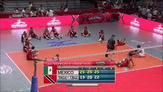 Download NORCECA: Mexico VS Trinidad y Tobago Video