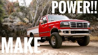 Download THE FIRST 4 MODS TO MAKE HORSE POWER ON YOUR OBS 7.3 POWERSTROKE!!! Video